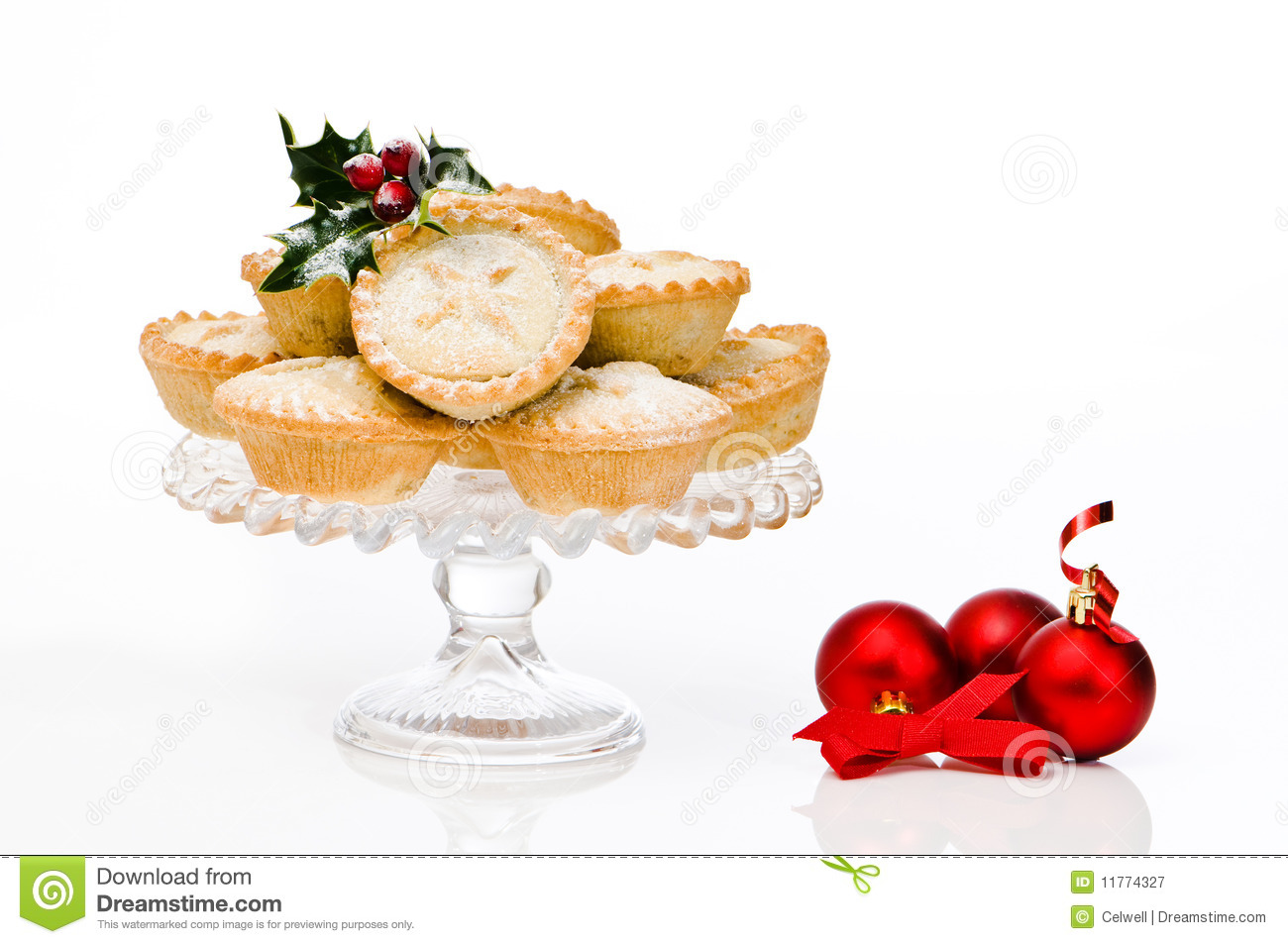 Mince Pies Royalty Free Stock Photography.