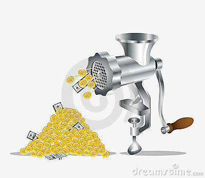 Mincer Stock Illustrations.