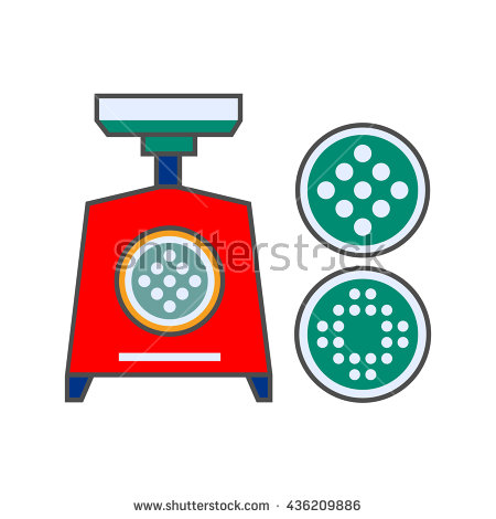 Mincing Machine Stock Vectors, Images & Vector Art.