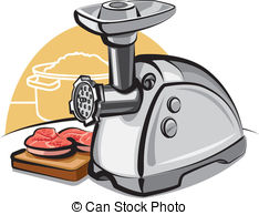 Mincing machine Vector Clipart Illustrations. 134 Mincing machine.