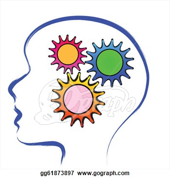 Thinking mind clipart.