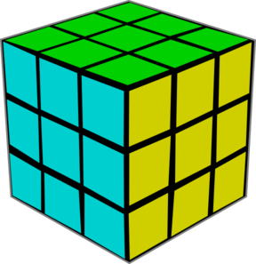 Rubik Clip Art at Clker.com.