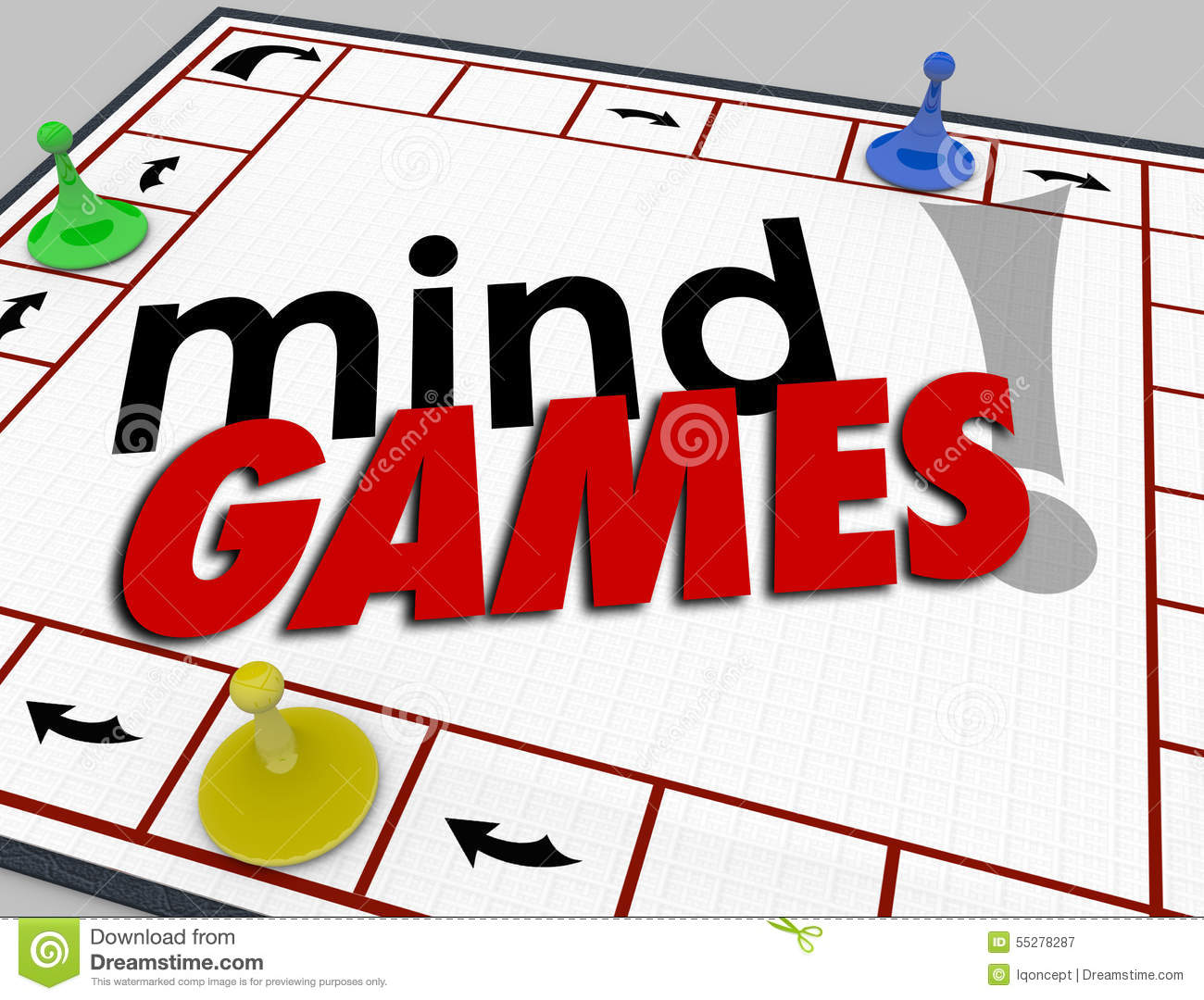 Mind Games Board Psychology Behavior Tricks Psychology Emotion.