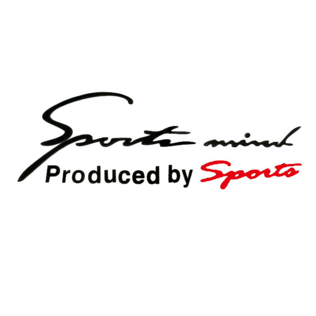 Sports mind logo for Racing Car SUV Vinyl Reflective Decal Graphics Sticker.