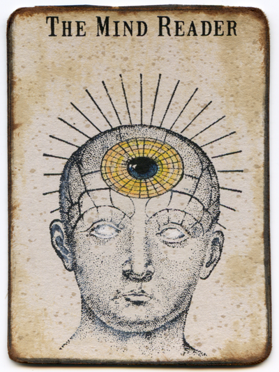 Mind Reader Clipart.