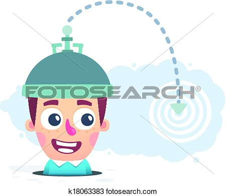 Mind Reading Clipart.