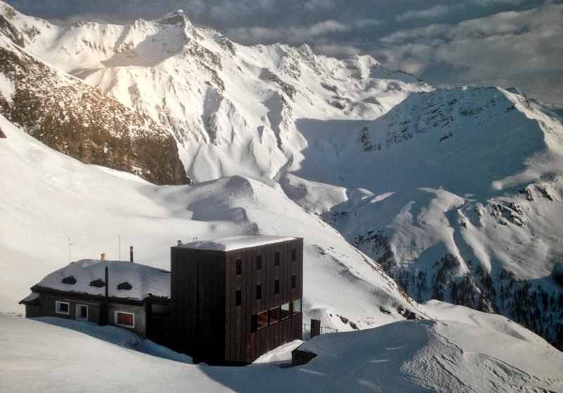 Eight Huts we need in the Mountains of the American West.