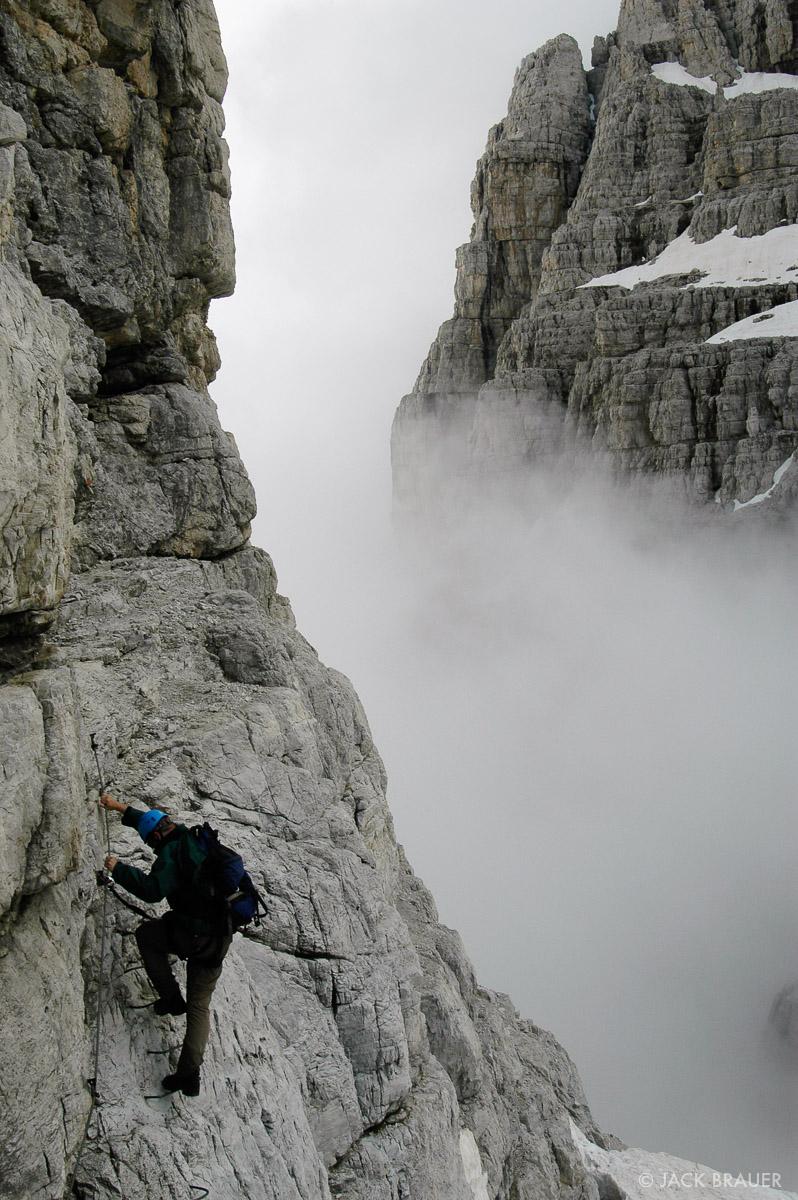 Search : Via Ferrata : Mountain Photography by Jack Brauer.