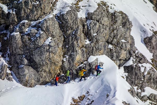 Ochsenloch ski tour 2017.