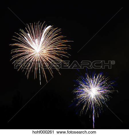Stock Photography of Germany, Minden, Autumn Fair, Firework.