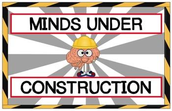 Under Construction Bulletin Board.