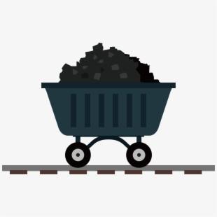 Carts Clipart Coal Mining.