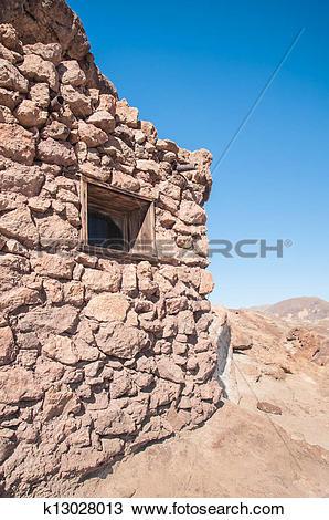 Stock Photo of Old West Mining Shack k13028013.