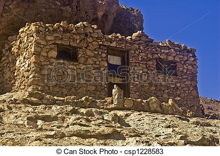 Stock Photos of Stone Mining Shack.