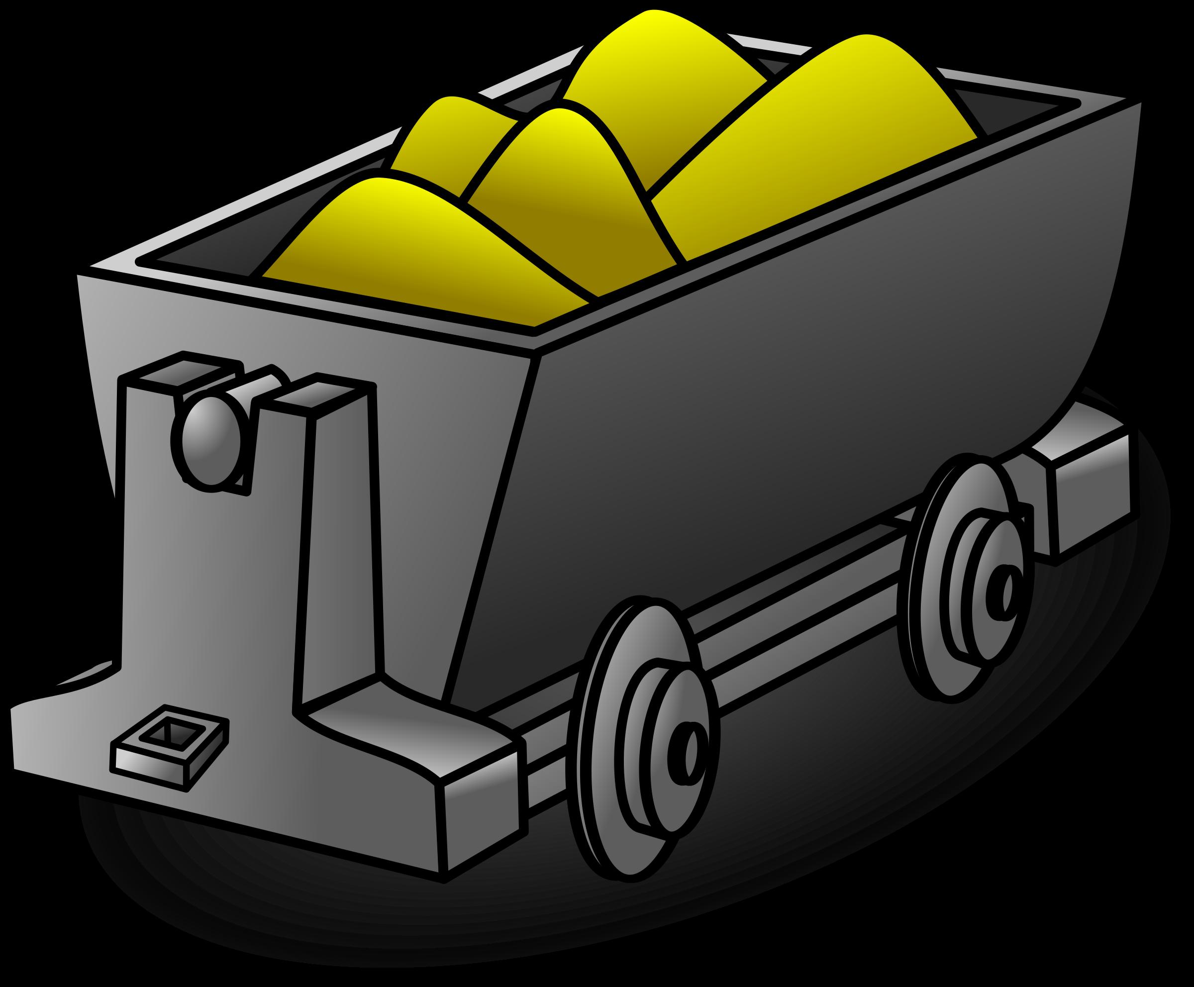Mining clipart minecart, Mining minecart Transparent FREE.
