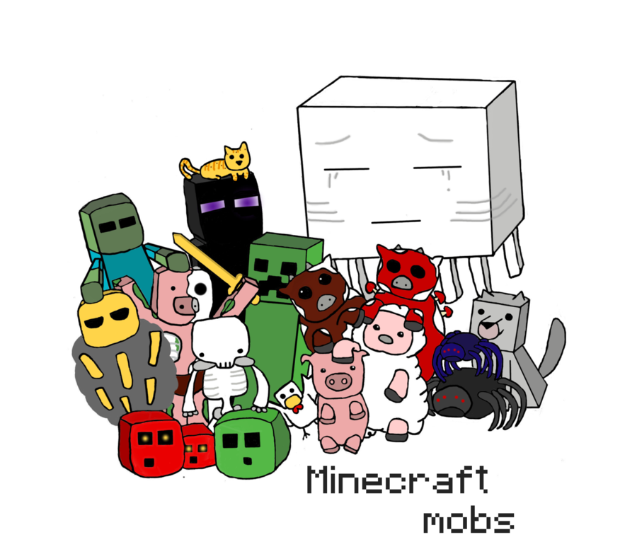 Which Minecraft Mob are you?.