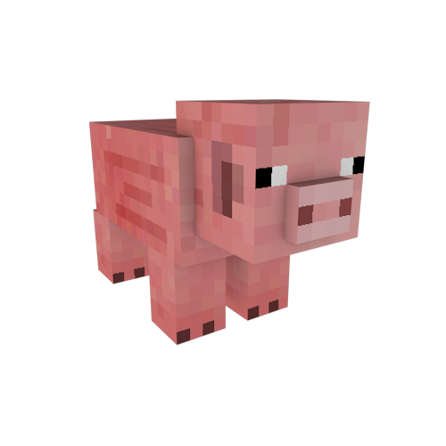 Minecraft Animal Clipart.