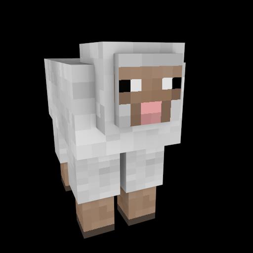 Free Minecraft Clipart Animal.