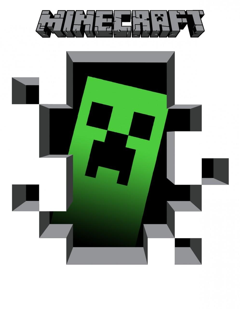 Minecraft birthday clipart no background.