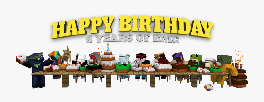 Happy Birthday Minecraft Png , Free Transparent Clipart.