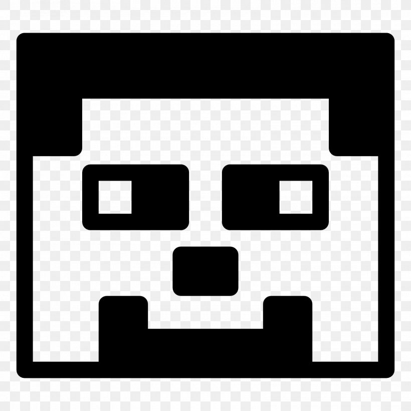 Minecraft Black And White Clip Art, PNG, 1600x1600px.