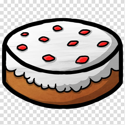 MineCraft Icon , Cake, round cake art transparent background.