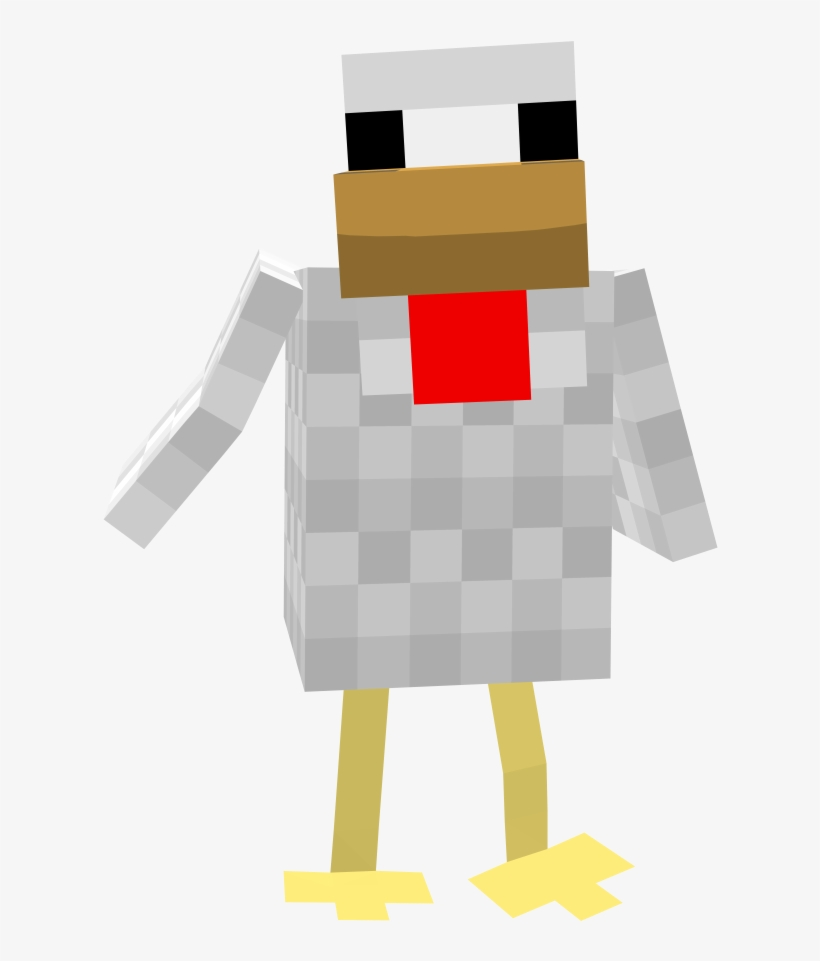 Minecraft Chicken.
