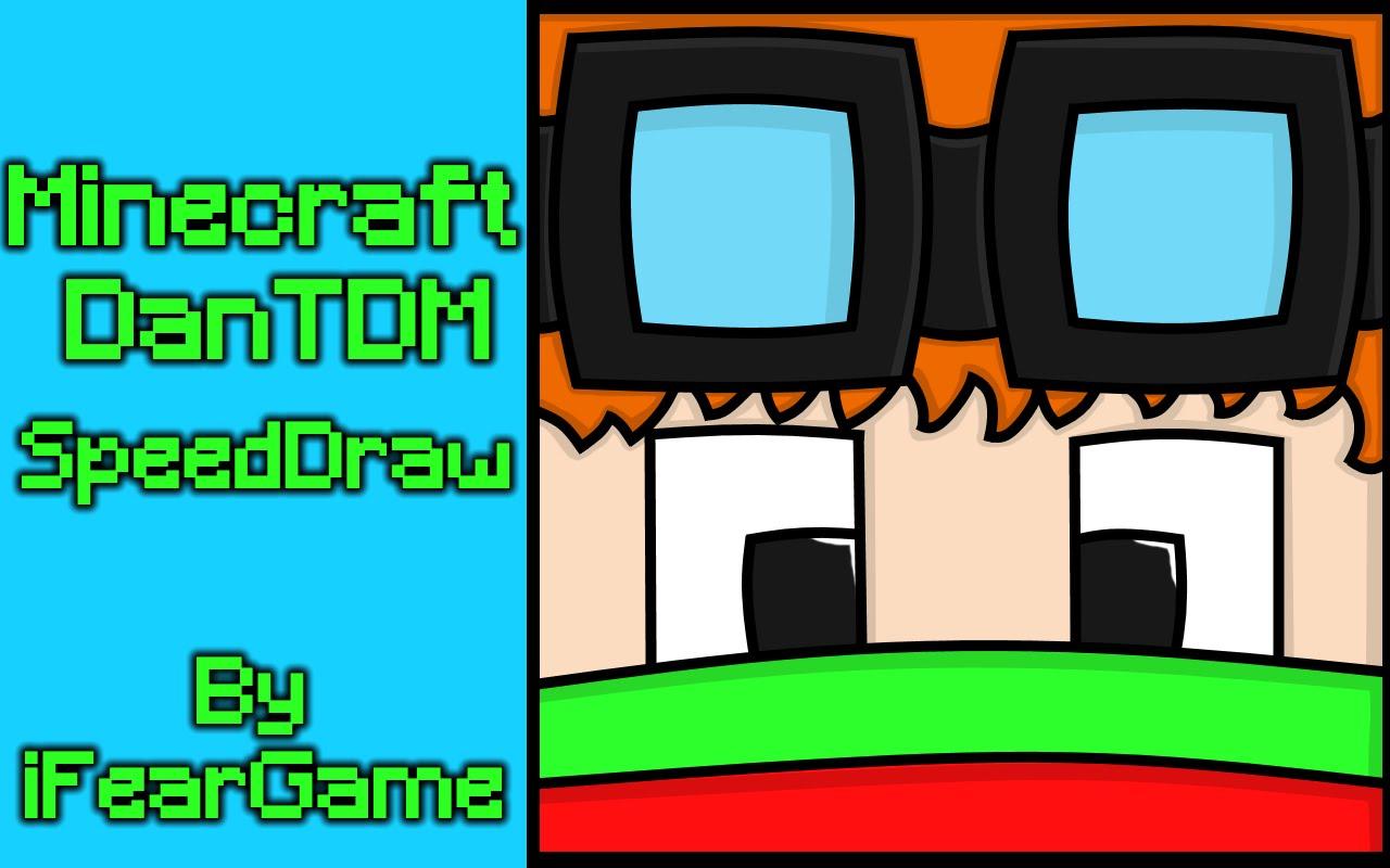 Minecraft DanTDM Christmas Skin (SpeedDraw).