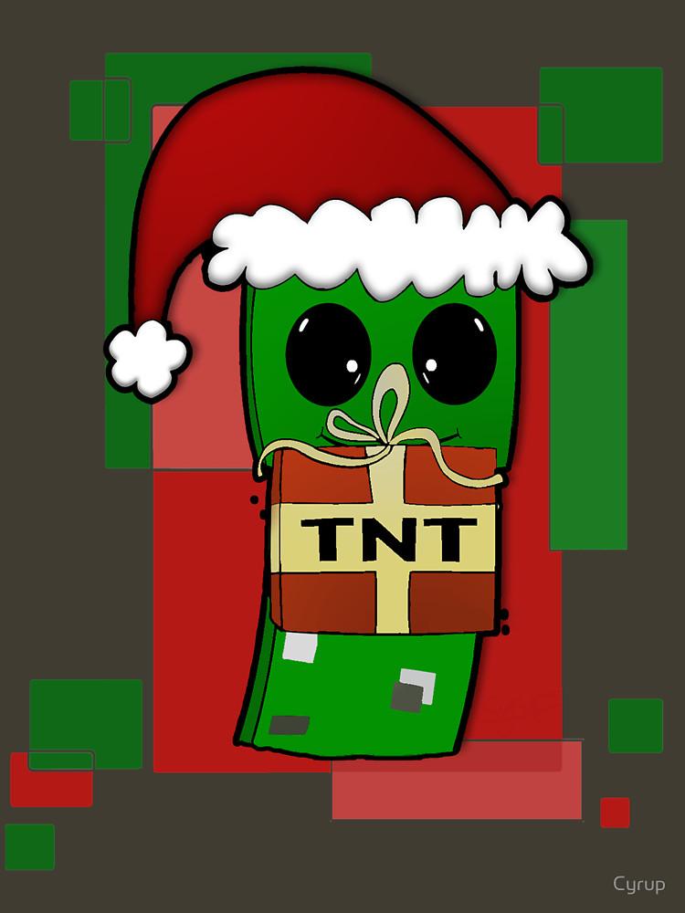 Minecraft Christmas Creeper