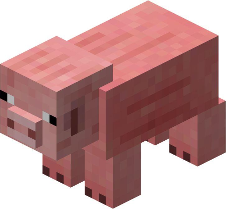 Minecraft Animal Clipart.