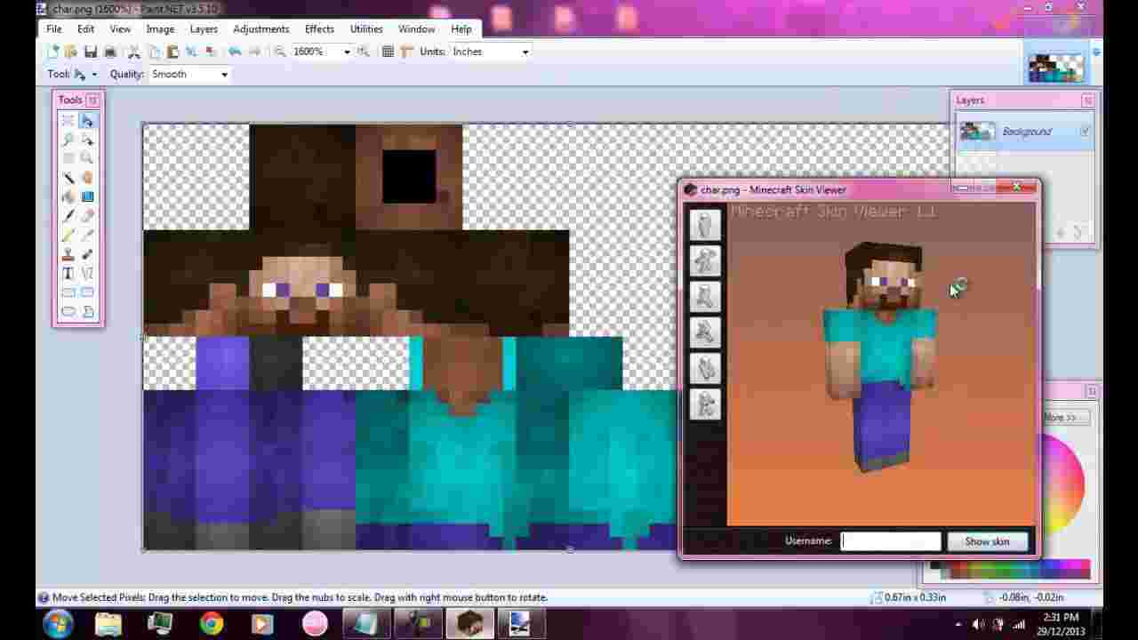 Best Cliparts: Minecraft Skin Hard Worker Clipart Turn Your.