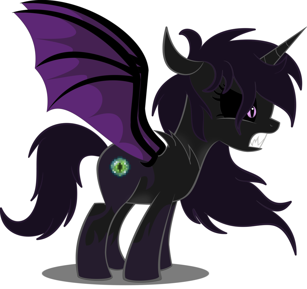Minecraft : Ender Dragon Ponyfied by DiamondSword11.deviantart.com.