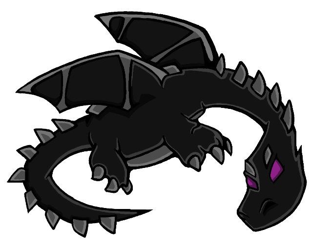 Cartoon Ender Dragon!.