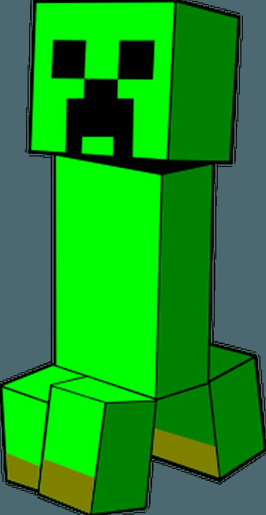 Minecraft Creeper SVG.