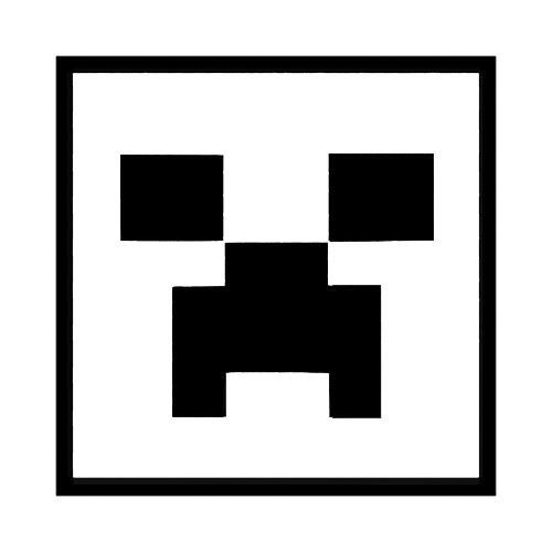 Minecraft Silhouette at GetDrawings.com.