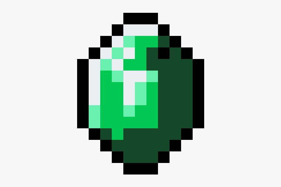 Minecraft Emerald Icon , Free Transparent Clipart.