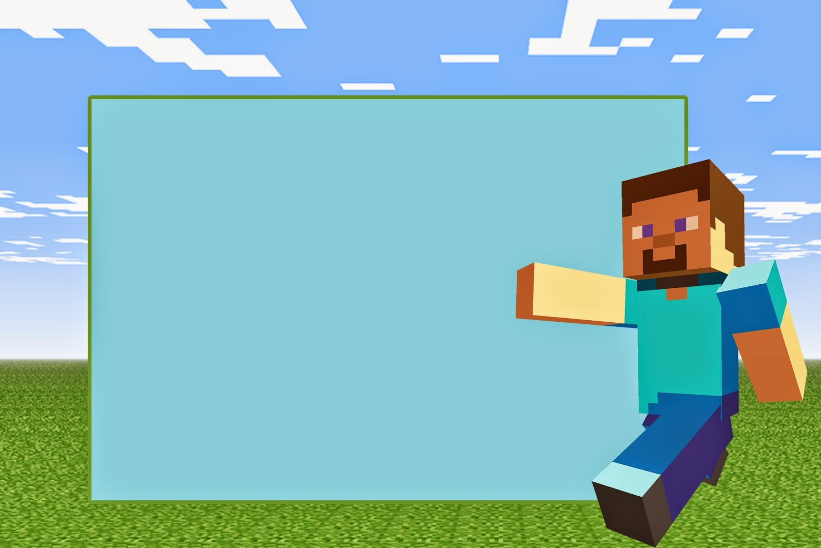 Minecraft Clipart To Print