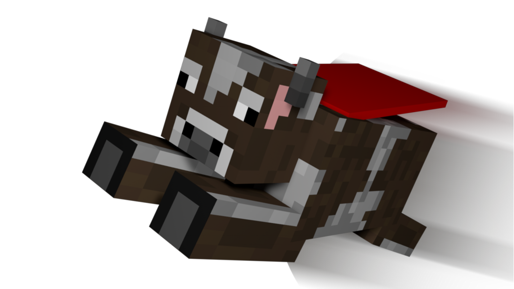 Minecraft cow.png download.