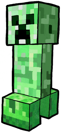 Creeper Clipart.