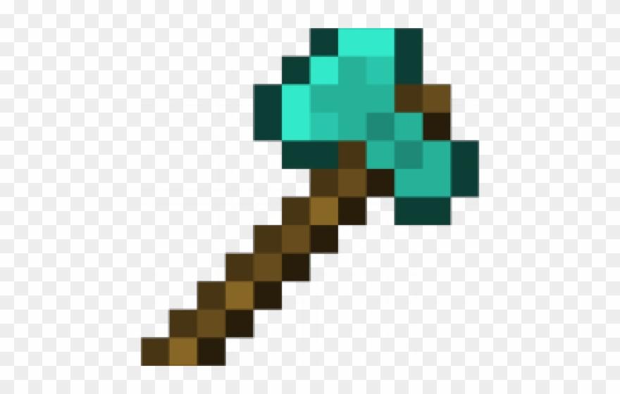 Axe Clipart Minecraft Diamond.