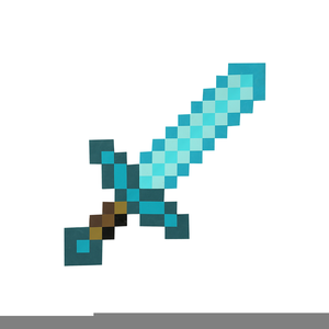 Diamond Sword Minecraft.