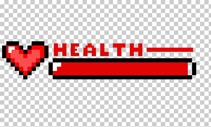 Health Minecraft Pixel art Video game, Health bar, health.