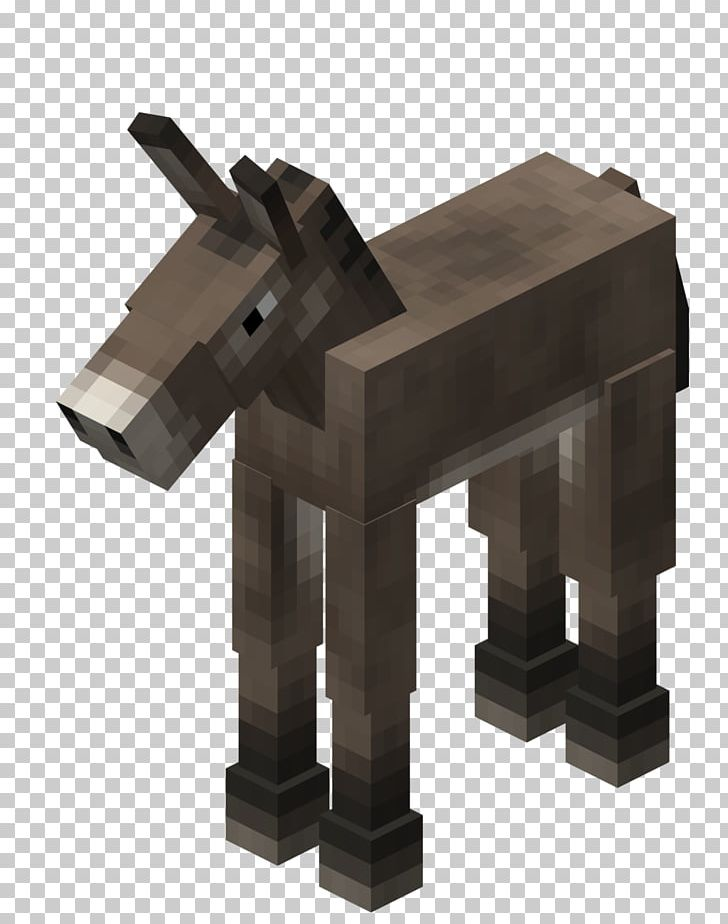 Minecraft: Pocket Edition Mule Horse Donkey PNG, Clipart.