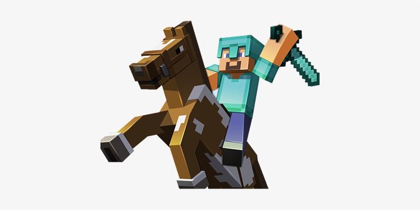 Steve Riding Horse.