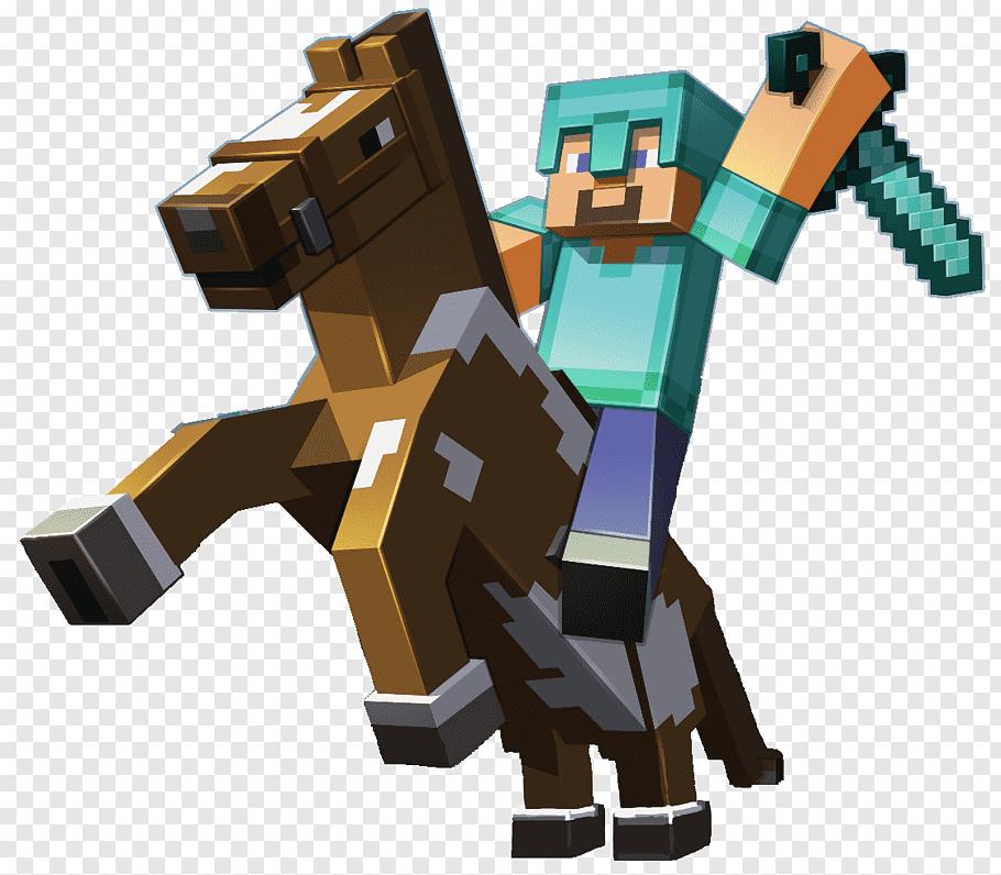 Minecraft character illustration, Minecraft: Pocket Edition.
