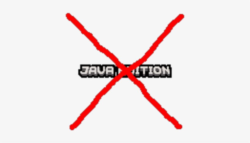 Java Edition Logo Remover.