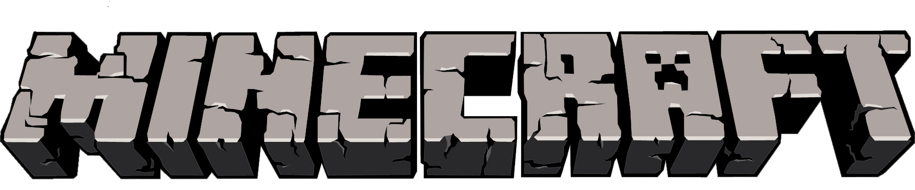 Logo Minecraft transparent PNG.