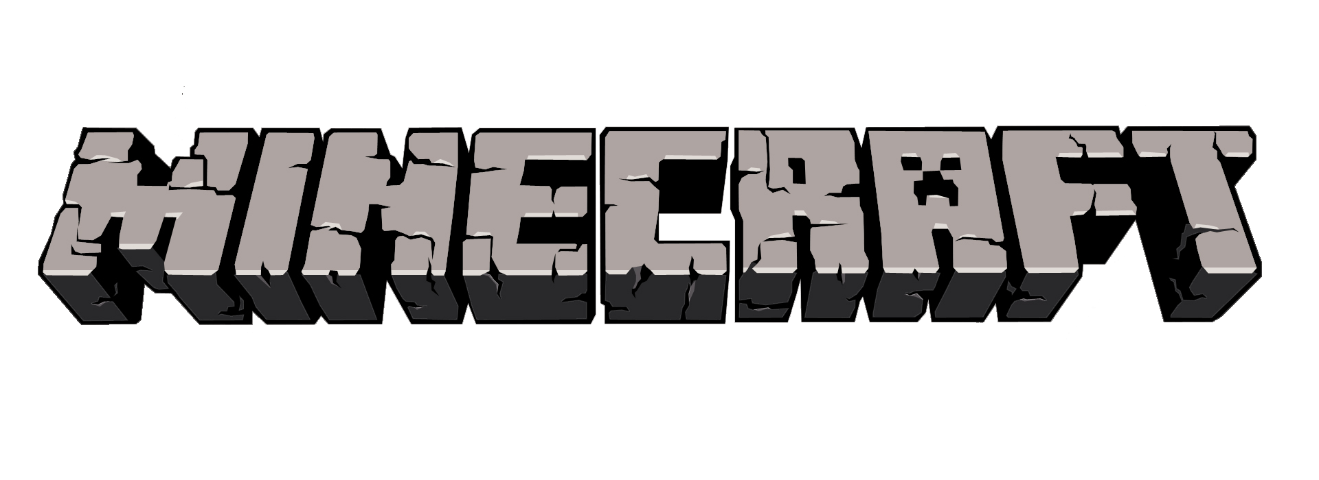 Minecraft logo transparent background ut05tirq.