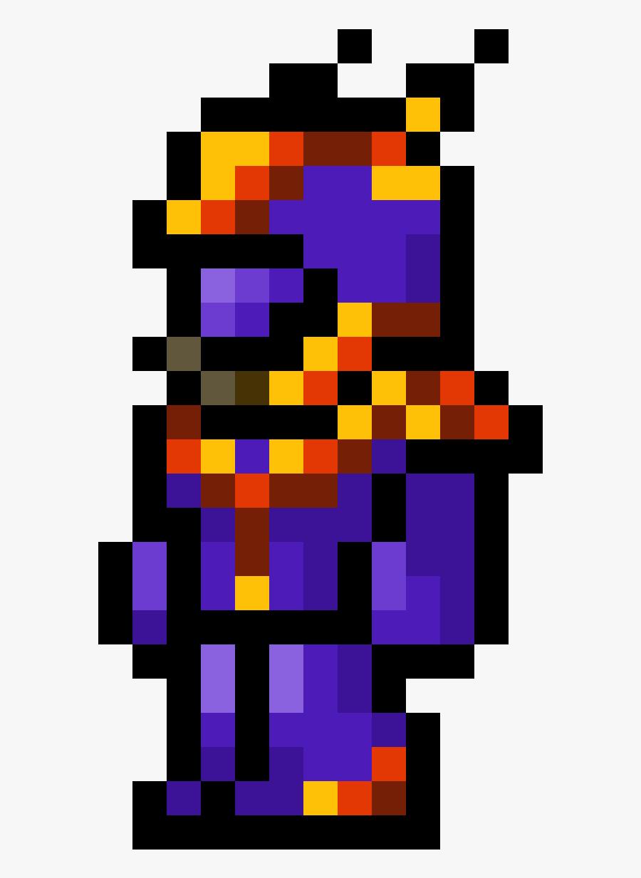 Terraria Armor Pixel Art , Png Download.