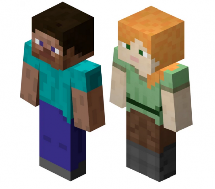 Personajes Minecraft Png Vector, Clipart, PSD.
